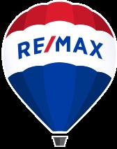 Logo officiel de l'agence immobilière Remax, qui détient une multitude de franchises et d'agences partout au Canada